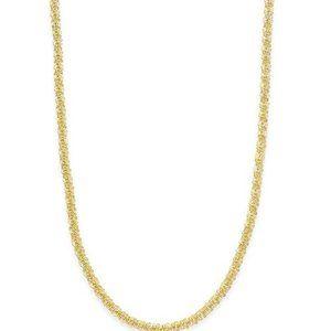 GIANI BERNINI 18K gold sparkle chain necklace